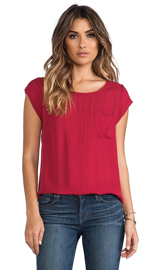 Matte Silk Rancher Top