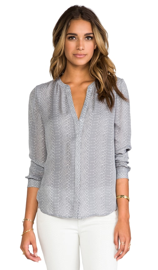 Hanelle Reptile Printed Blouse