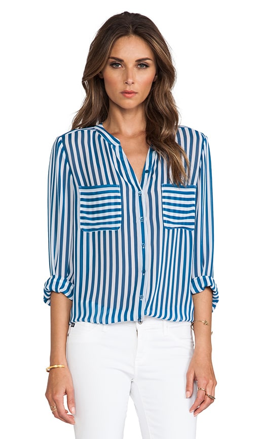 Loreley Vertical Stripe Blouse