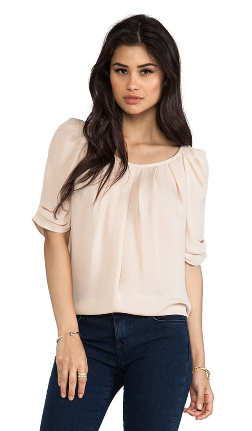 Eleanor Matte Silk Top