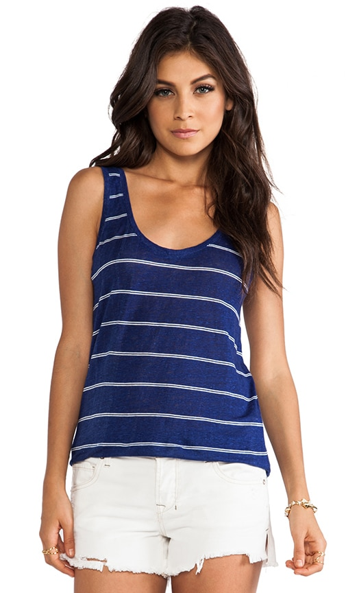 Peyeche Mini Stripe Printed Tank