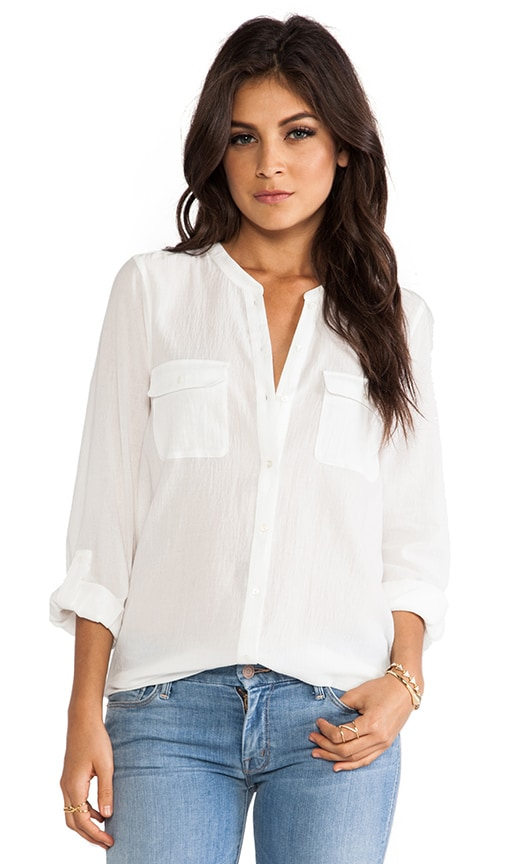 Ginette Button Down Blouse