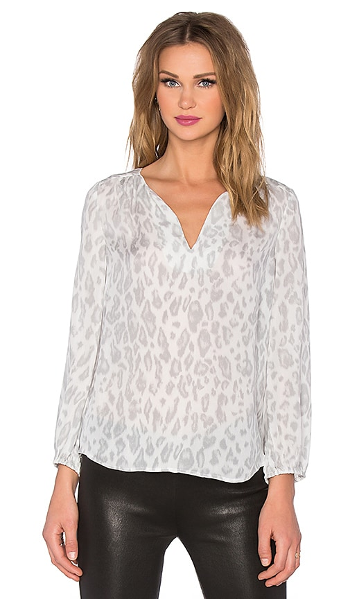 Odelette B Cheetah Printed Blouse