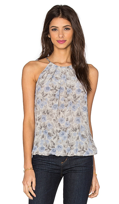 Joie Anatese C Floral Tank in Gray