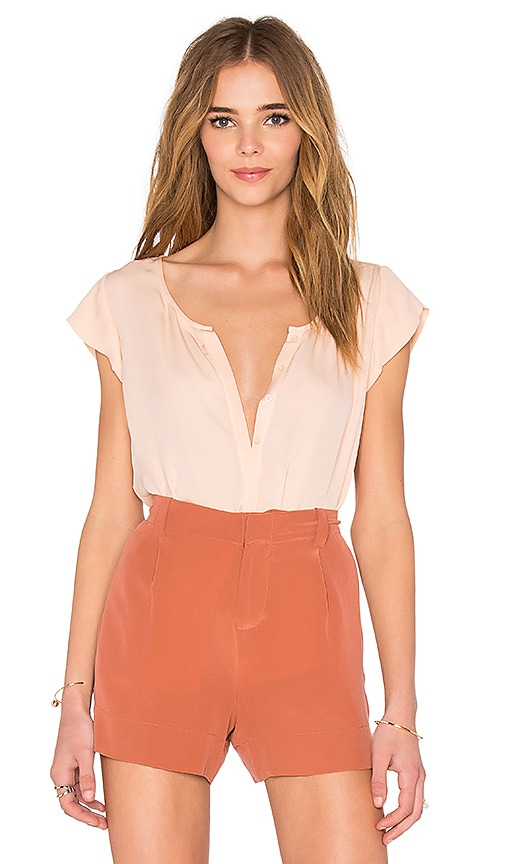 Joie Iva Top in Peach