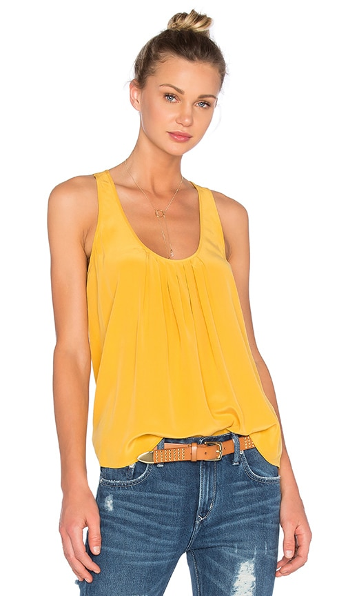 Joie Mint Tank in Yellow