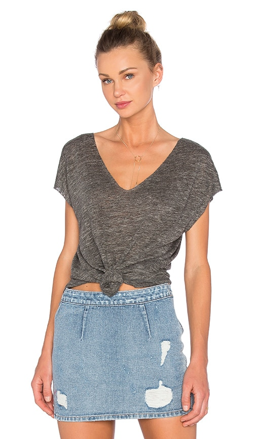 Joie Lata Top in Heather Grey