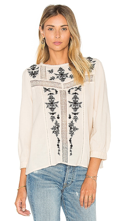 Oakes Embroidered Blouse