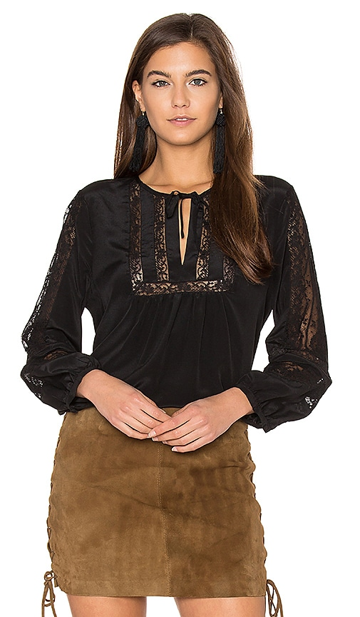 Joie Durango Blouse in Black