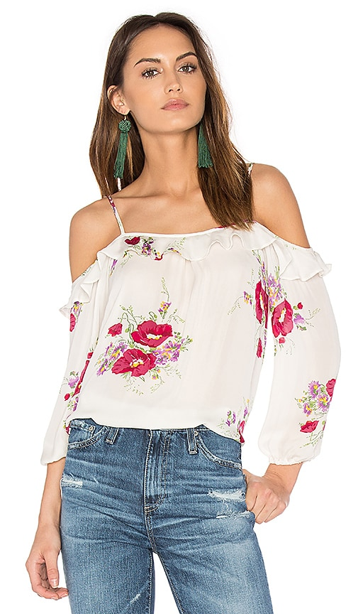 Joie Birtha Top in Ivory