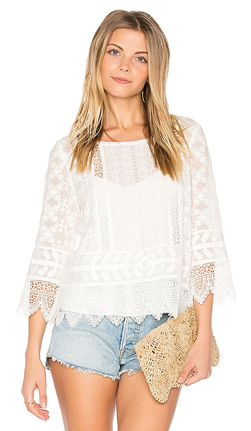 Joie Hadlee Top in White