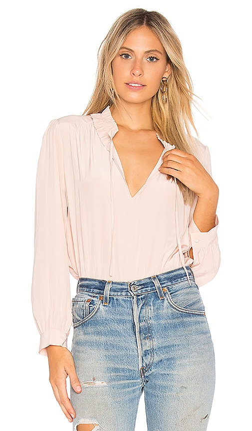 Joie Evengelene Blouse in Pink