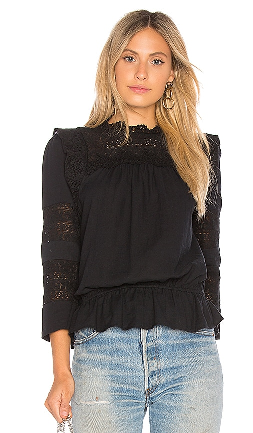Joie Florencia Blouse in Black