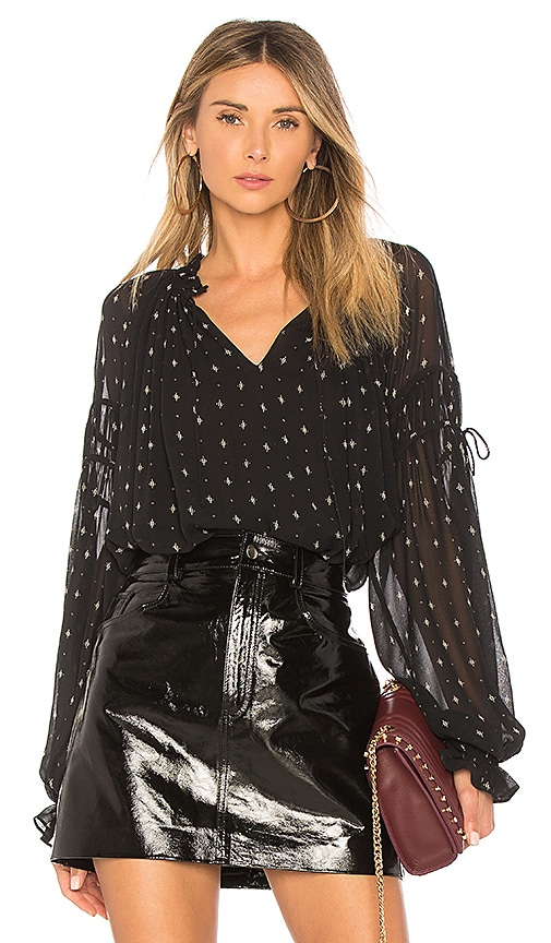 Joie Amalthea Blouse in Black