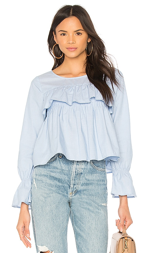 Joie Adotte Blouse in Blue