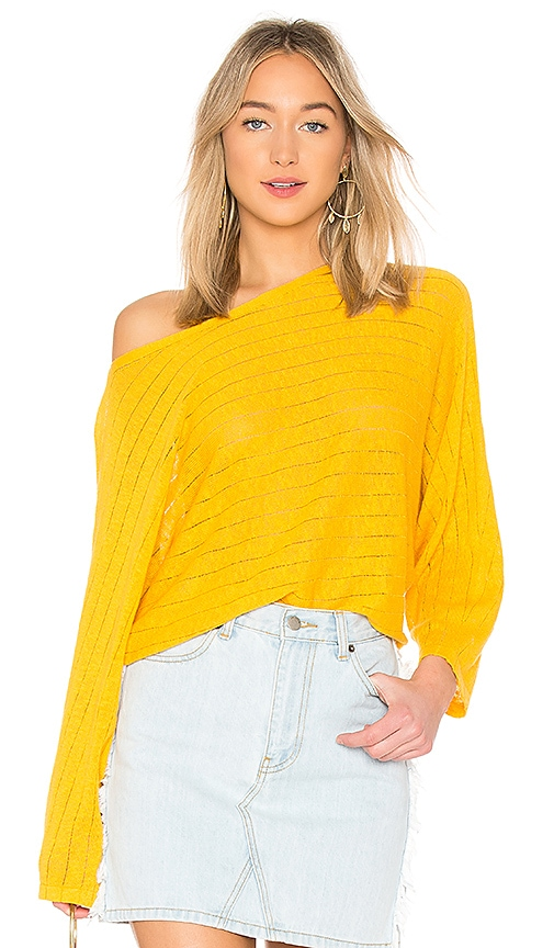Joie Brooklynn Top in Yellow
