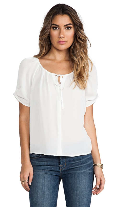Berkeley Matte Silk Blouse