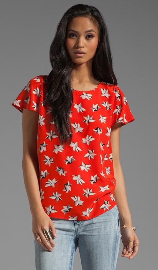 Murphy Tropic Floral Top