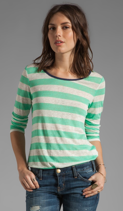 Mandreon Deck Stripe Top