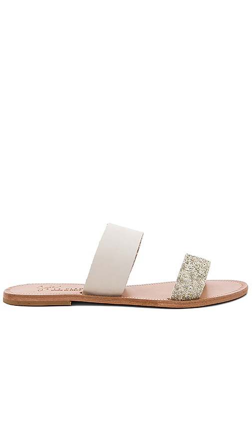 Joie Sable Sandal in White