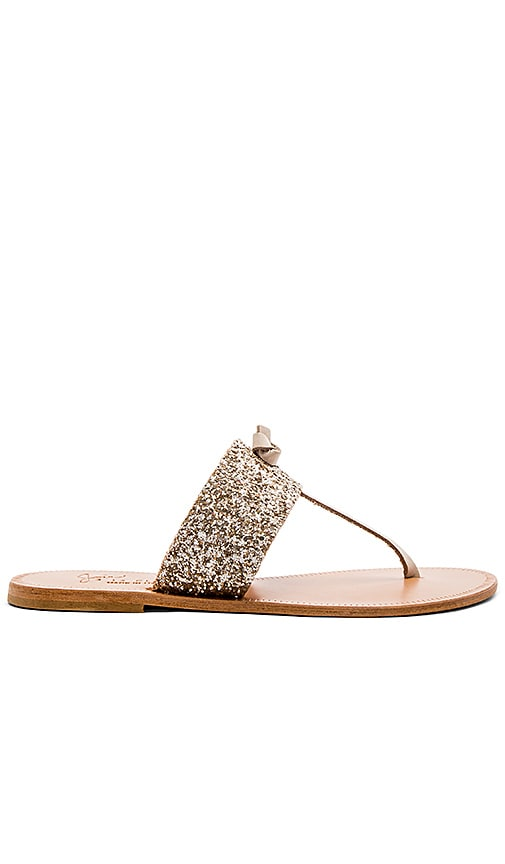 Joie Nice Sandal in Metallic Silver