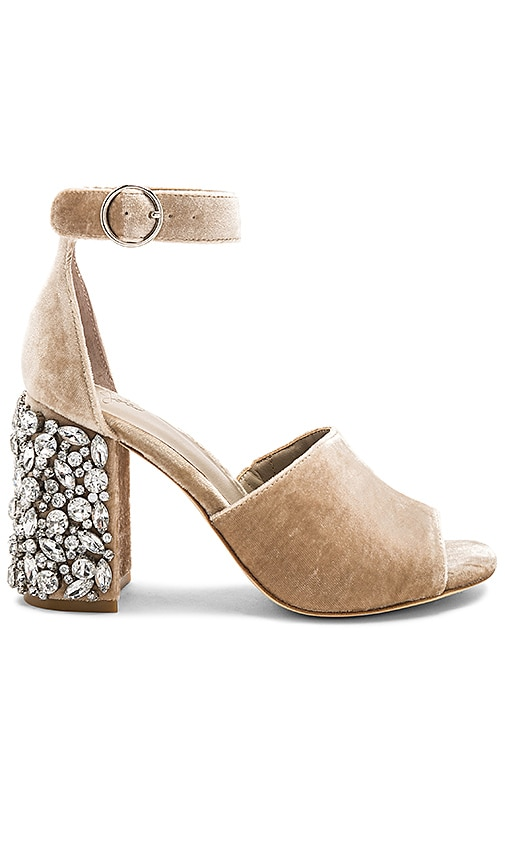Joie Lafayette Embellished Heel in Tan
