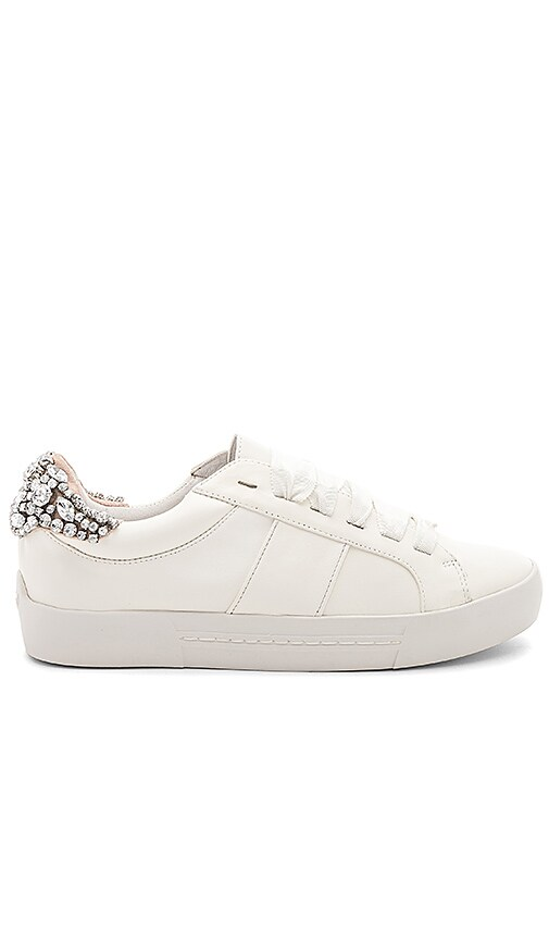 Joie Darena Embellished Sneaker in Ivory