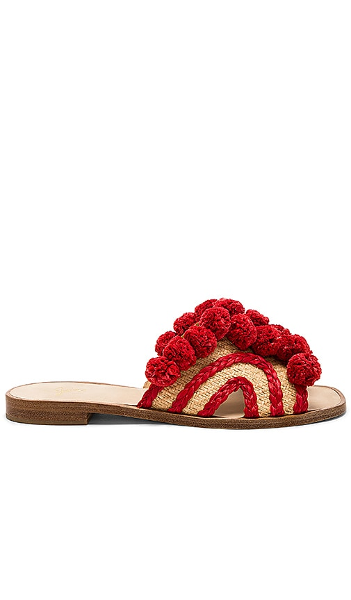 Joie Paden Sandal in Red