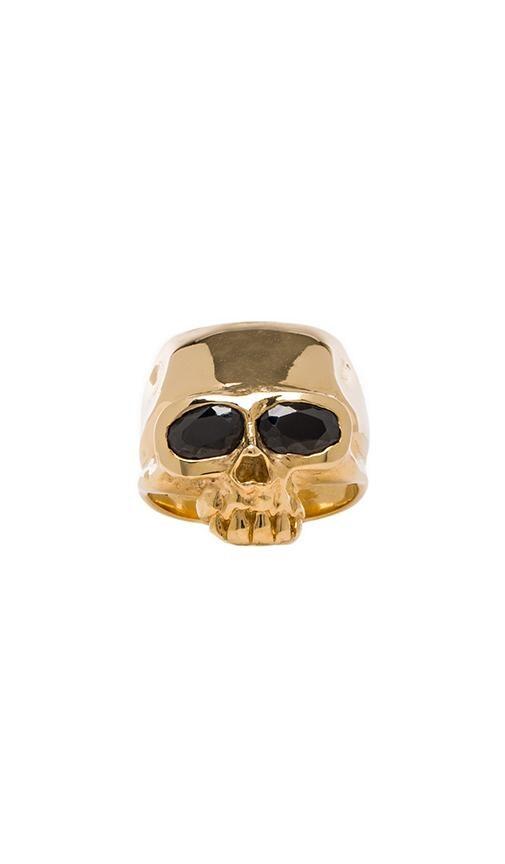 Skull Head Ring