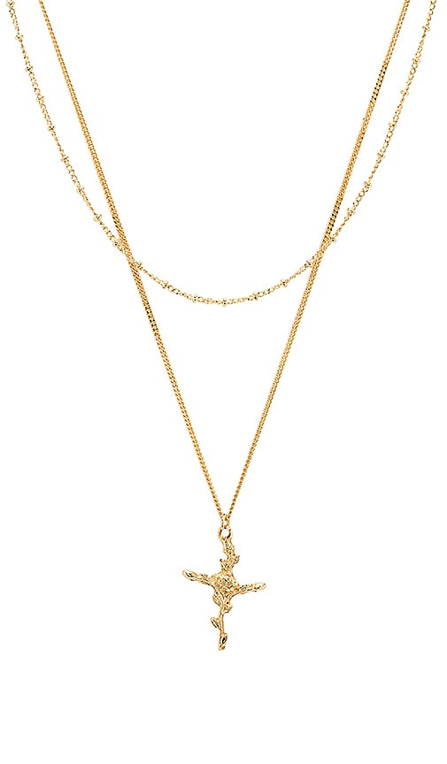 joolz by Martha Calvo Ivy Rose Necklace Set in Gold