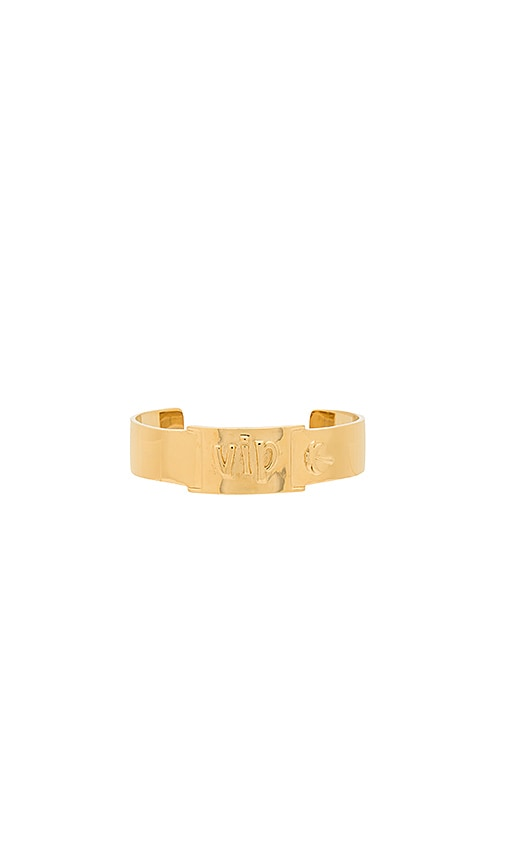 joolz by Martha Calvo x REVOLVE Chella VIP Cuff in Metallic Gold