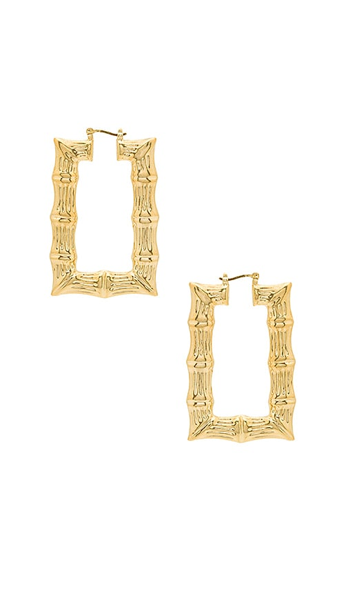 Square Bamboo Hoops
