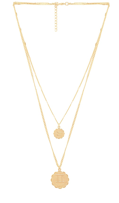 Gemini Zodiac Necklace Set