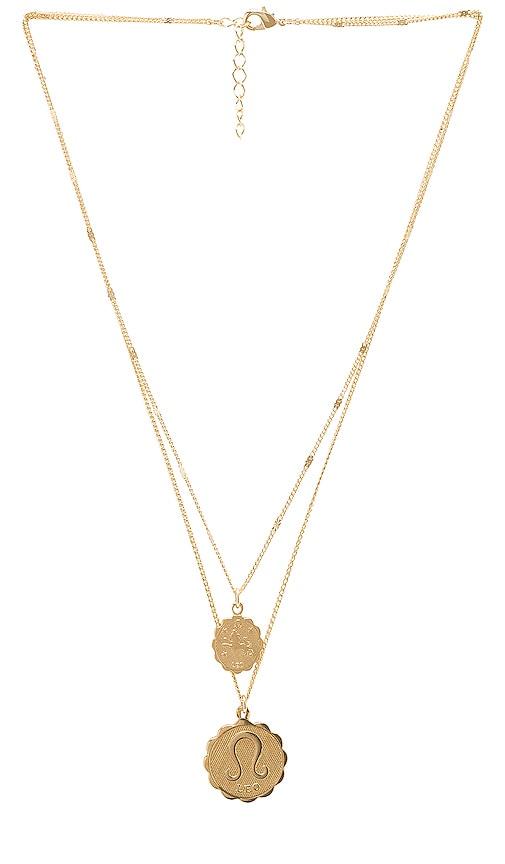 Leo Zodiac Necklace Set