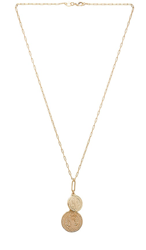 Double Metal Benedict Necklace