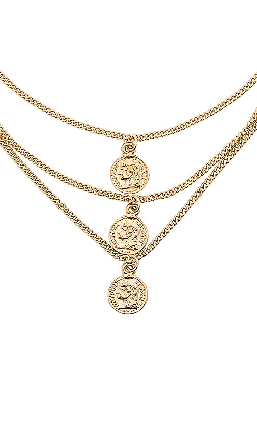 Triple Tribute Coin Necklace