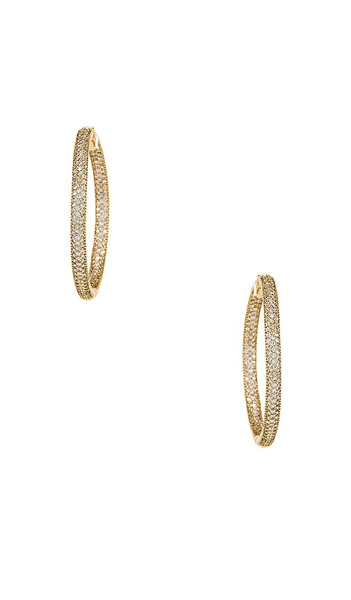 Tubular Pave Hoops