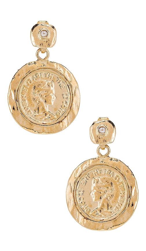 Tesori Coin Earrings
