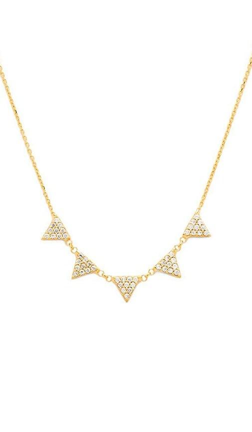 5 Triangle Neckalce