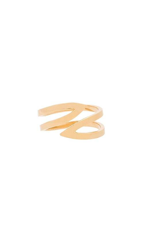 Triangle Cuff Ring