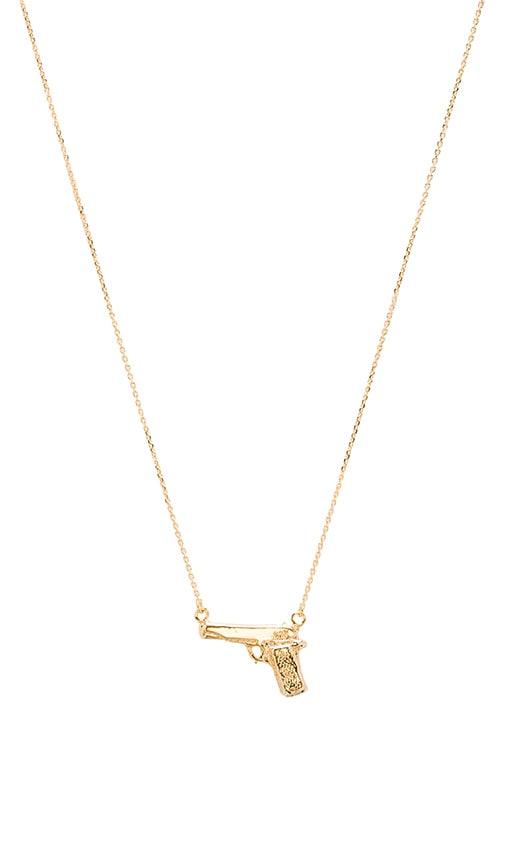 Handgun Necklace
