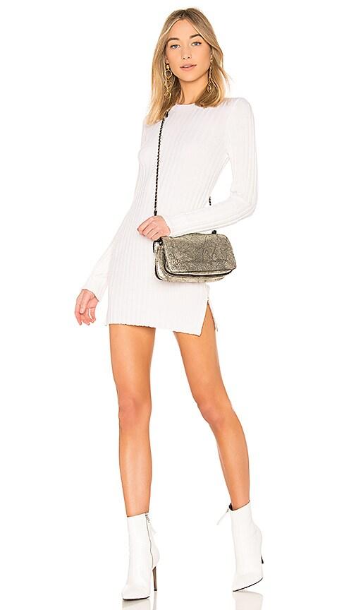 Joseph Rib Tunic Dress in White