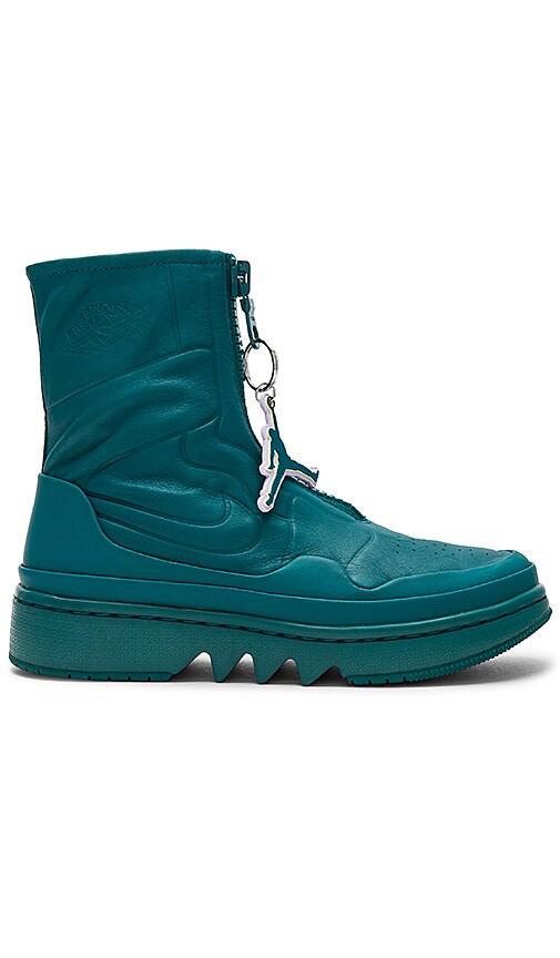 Jordan AJ1 Jester XX Sneaker in Teal