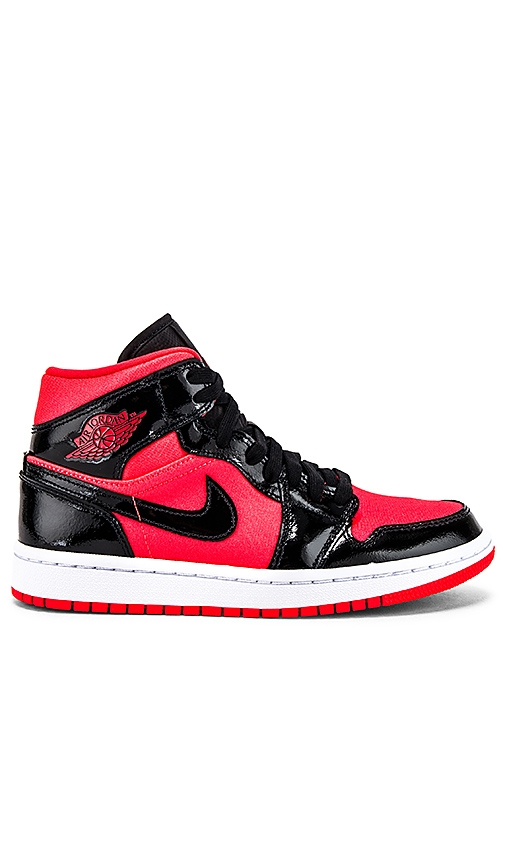 Jordan AJ 1 Mid Sneaker in Burnt