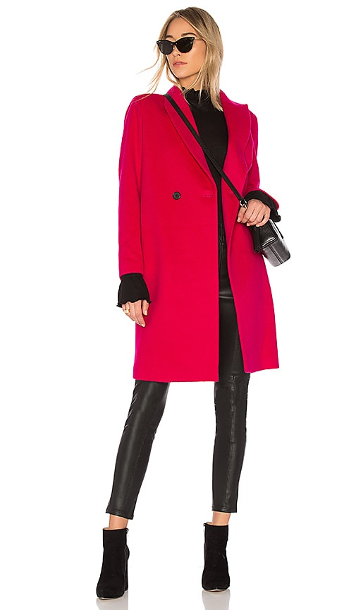 J. RYU 17 Jessica Coat in Pink
