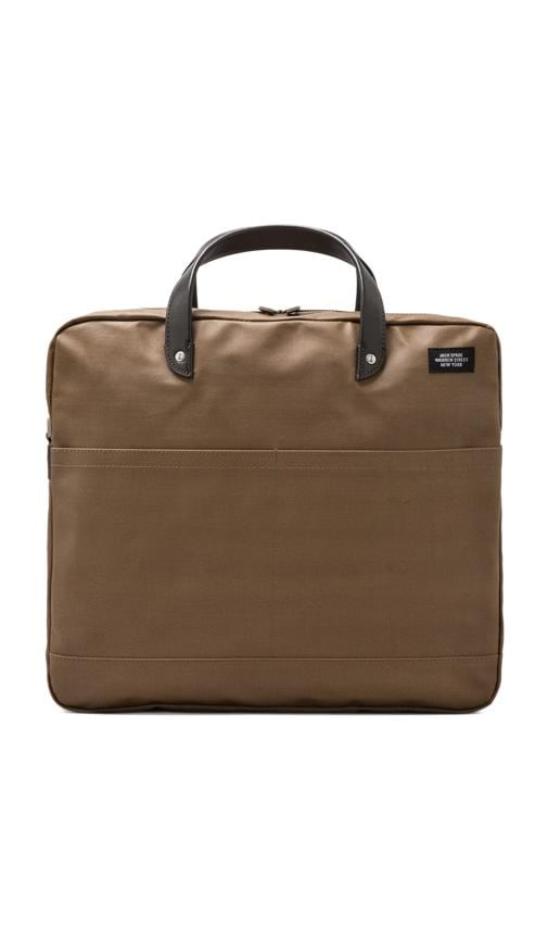 Coated Canvas Carryall