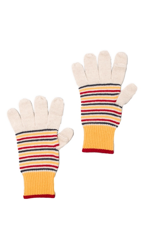 Keller Striped Gloves