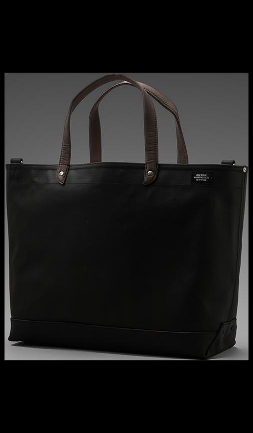 Blackboard Canvas Coal Bag