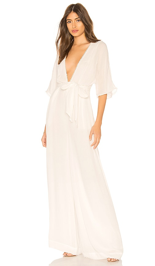 THE JETSET DIARIES Ines Jumpsuit in White