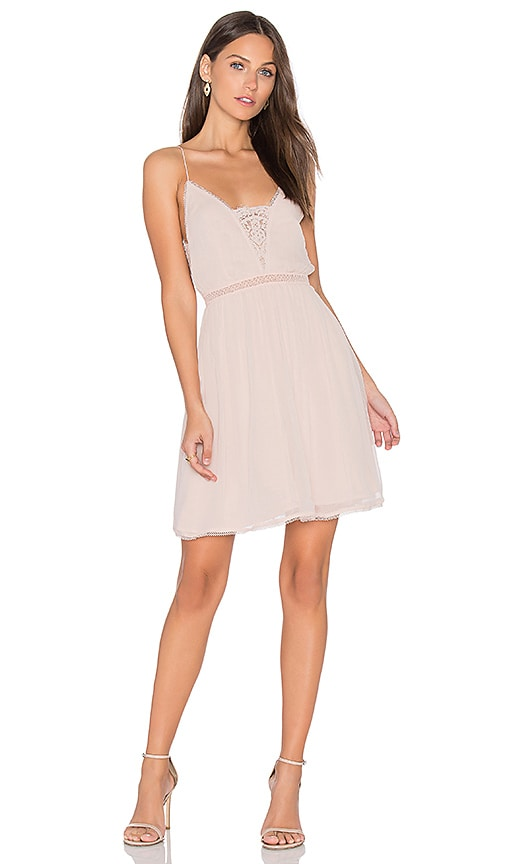 THE JETSET DIARIES Basilica Slip Dress in Blush